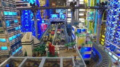 LEGO department store in Kids Shop - stock footage