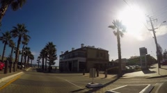 Adelaide, South Australia, vehicle POV driving through Henley Beach and Grang Stock Footage