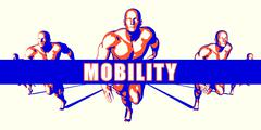 Mobility Stock Illustration