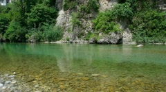 Natisone river Stock Footage