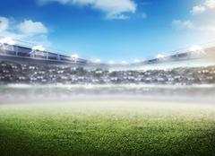 Football stadium background Kuvituskuvat