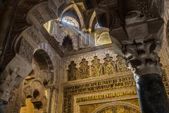 Mosque-Cathedral of Cordoba - stock photo