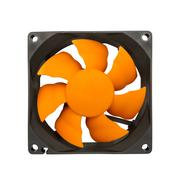 Computer case fan - stock photo