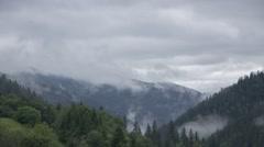 Morning mist. 4K UHD timelapse. Stock Footage