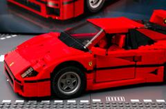 Lego Ferrari F40 - stock photo