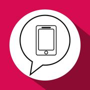 Call center design. Global communication. Flat illustration Stock Illustration