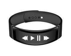 Wrist band icon , vector Stock Illustration