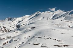 Top of the Redentore in the Sibillini Mountains - stock photo