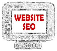 Website Seo Representing Search Engine And Sem - stock illustration