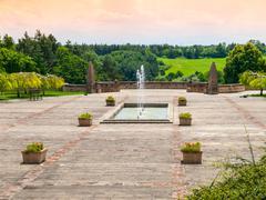World War Memorial in Lidice - stock photo