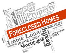 Foreclosed Homes Showing Foreclosure Sale And Properties Piirros