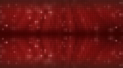 Red Mosaic Background. Stock Footage