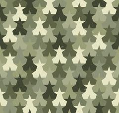 Camouflage seamless pattern Stock Illustration