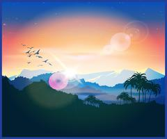 Jungle - stock illustration