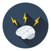 Icon of Brainstorm Stock Illustration
