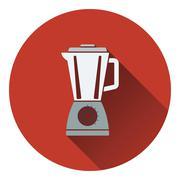 Kitchen blender icon - stock illustration