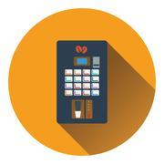Coffee selling machine icon Stock Illustration
