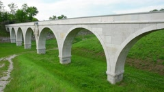 Old acqueduct Stock Footage
