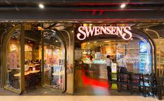Swensens restaurant in Siam Paragon Mall, Bangkok - stock photo
