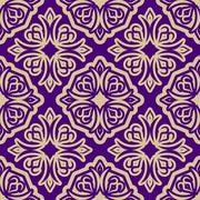 Islamic asia background. Pattern ramadan seamless arabic. abstract decoration Stock Illustration