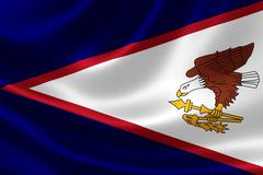 Flag of the Territory of American Samoa Piirros