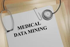 Medical Data Mining medical research concept Piirros