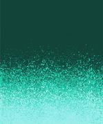 graffiti spray painted green mint blue gradient background - stock illustration