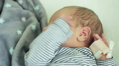 Weekly child at home Stock Footage