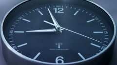 Clock time lapse - stock footage