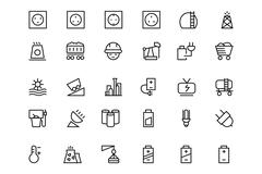Energy Vector Icons Stock Illustration