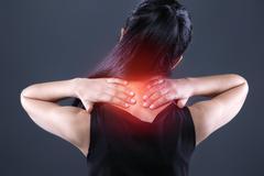 Creative concept for body pain Stock Photos