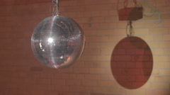 Rotating Discoball Stock Footage