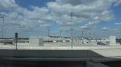 Hartsfield–Jackson Atlanta International Airport Stock Footage