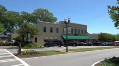 Senoia Georgia - Historic district Stock Footage