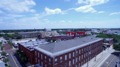 Aerial of Ybor in Florida Stock Footage