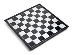 Empty chessboard Stock Photos