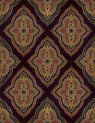 Oriental ornament for carpet. - stock illustration