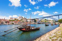 Douro river Stock Photos