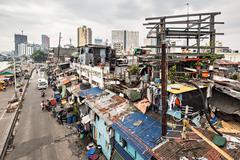 Slum - stock photo