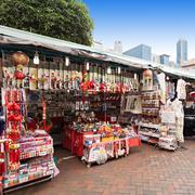 Singapore Chinatown - stock photo