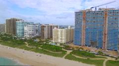 Beachfront luxury apartments in Bal Harbour Florida Arkistovideo