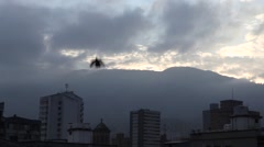 Timelapse of the sun rising over Medellin, Colombia (3) Stock Footage