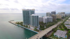 Ritz Carlton Bal Harbour Stock Footage