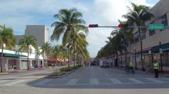 Ciclovia Sunday Miami Beach 4k Stock Footage