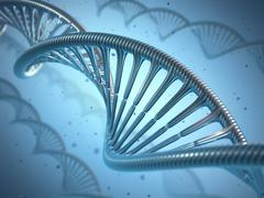 DNA Genetic Engineering - stock illustration