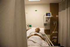 A patient resting Stock Photos