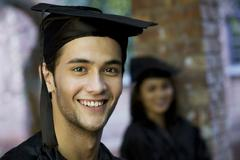 College student at graduation ceremony Stock Photos