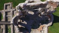 Ancient Bulgarian Christian Church Temple Stock Footage