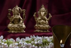 Hindu idols Stock Photos