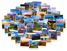 Stack of Montenegro and Bosnia travel images (my photos) Stock Photos